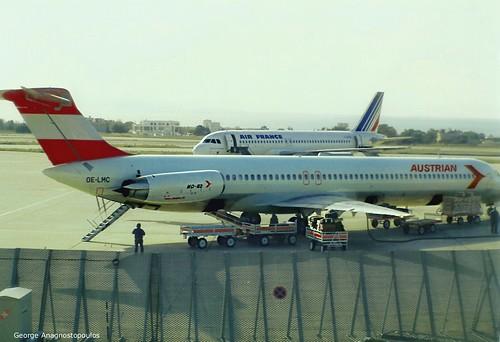 AUSTRIAN OE-LMC MD-82 (ATH'92)