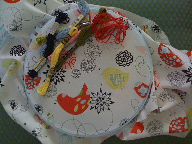Plans for the August Stitch Along