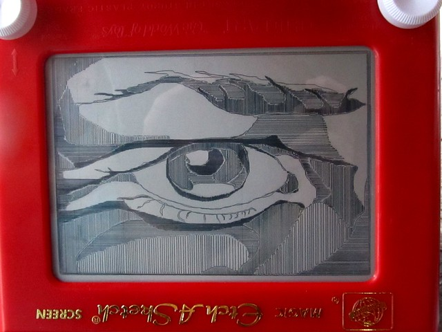 Etch a Sketch Eye2
