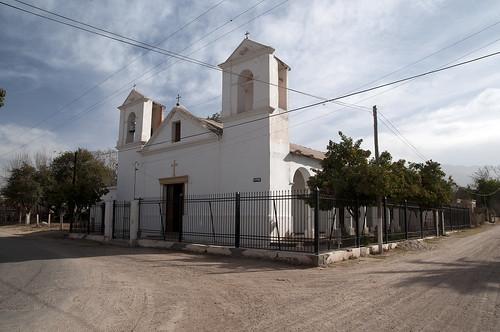 Vecchia chiesa spagnola nella seconda città più vecchia dell'Argentina, Londres