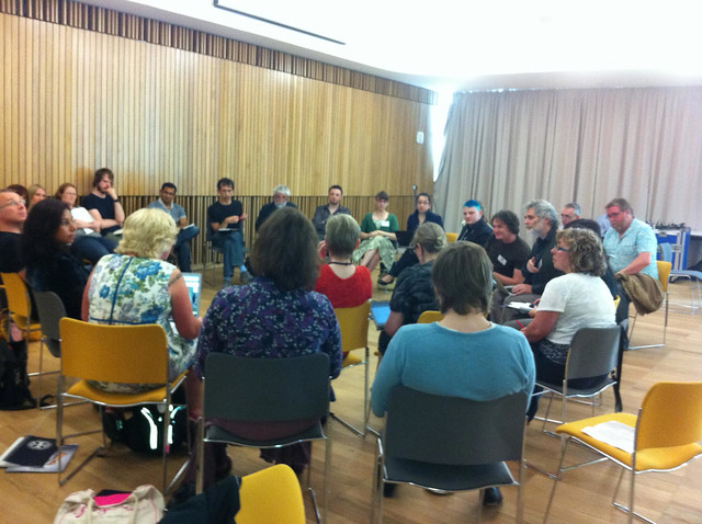 A round table at the 2011 Repository Fringe event.