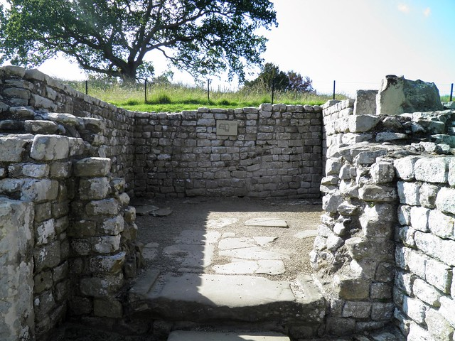 The Bath-House, the Hot Rooms, Chesters Roman Fort