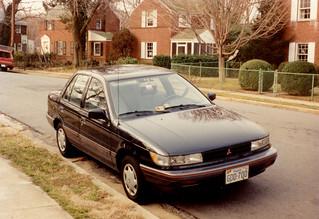 Arlington - My 1990 Mitsubishi