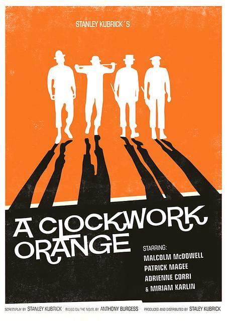 Clockwork Orange poster   Flickr - Photo Sharing! A Clockwork Orange Movie Poster Original