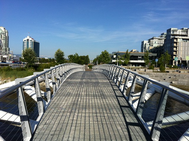 Canoe Bridge, Mount Pleasant (Olympic Village) Vancouver