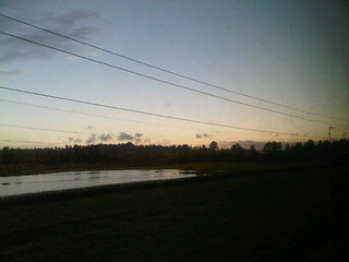 This one's a little better. And it shows a relatively clear sky, @alyosha19. #traintravel