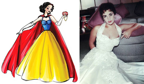 Snow White and Elizabeth Taylor