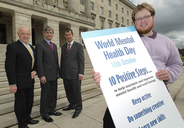 Health Minister Launches World Mental Health Day