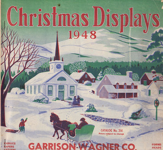 1948 Garrison-Wagner Christmas Display Catalog