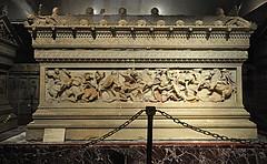 the Alexander Sarcophagus, Istanbul