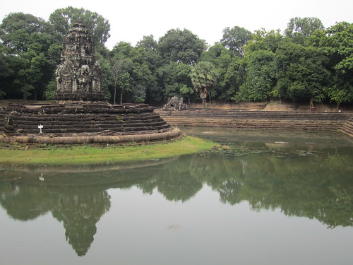 Island temple at Neak Pean