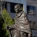 Small photo of Gandhi stature, Glebe Park