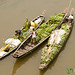Boats Filled with Bananas - Bandarban, Bangladesh