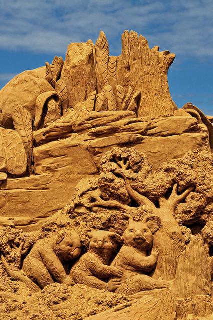Sand Sculpture Festival 2011