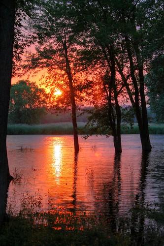 sunset water river sunrisesunset hdr naturesfinest