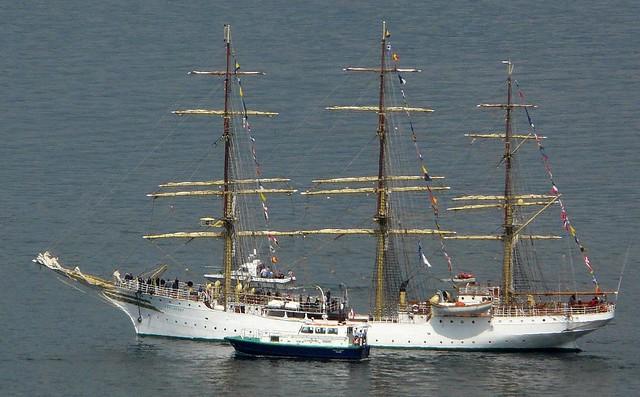 Tall Ships 2011 Greenock - Sorlandet & pilot boat