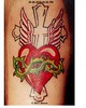 Heart With Wings & Cross tattoo by Storm Heart + Cross