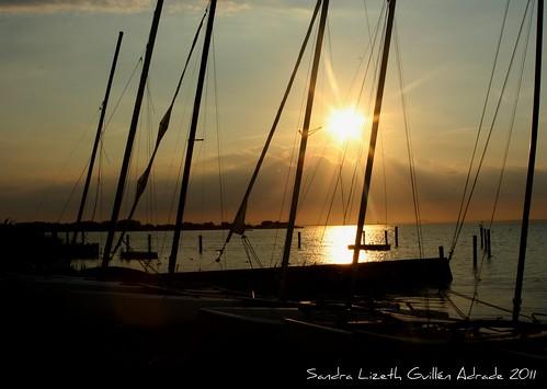 sunset summer usa beach bay boat sand holidays vacactions