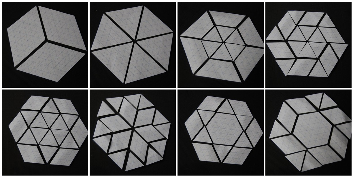 Lily 39 s quilts hexalong templates for Free english paper piecing hexagon templates