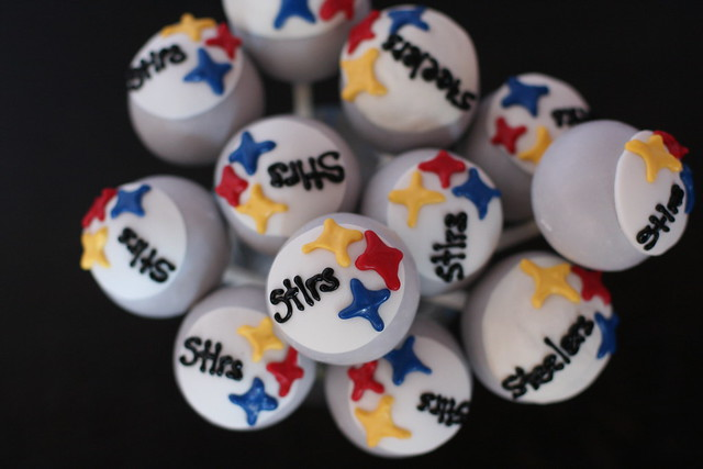 Cake Pop Steelers