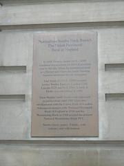 Photo of Thomas Smith bronze plaque