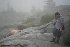 Devin and Corey on Mt. Monadnock