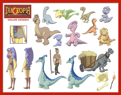 dinotopia coloring pages - photo#10