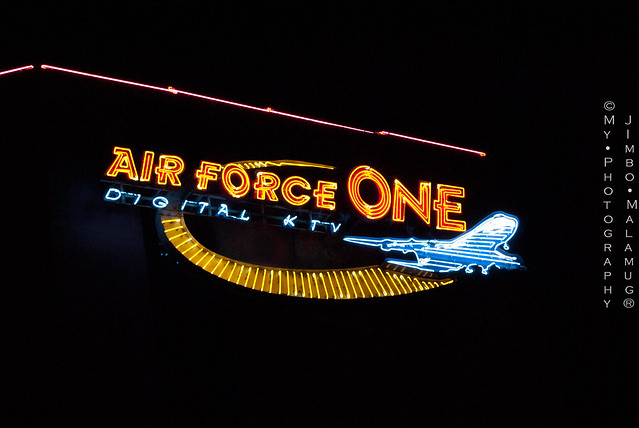 Air Force One Philippines KTV http://www.flickr.com/photos/jimbo81/5971840961/