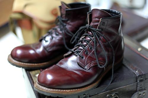 Getting Black Shoe Polish To Stick