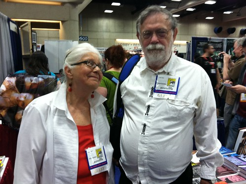 Joyce Farmer and Frank Stack at San Diego Comic-Con 2011