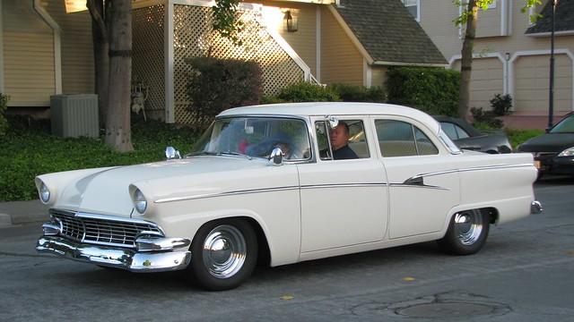 1956 ford mainline 4 door sedan custom 39 4jra750 39 1 for 1956 ford 4 door