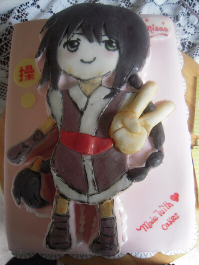 Baby Shower Cakes San Jose ~ Anime cake flickr photo sharing