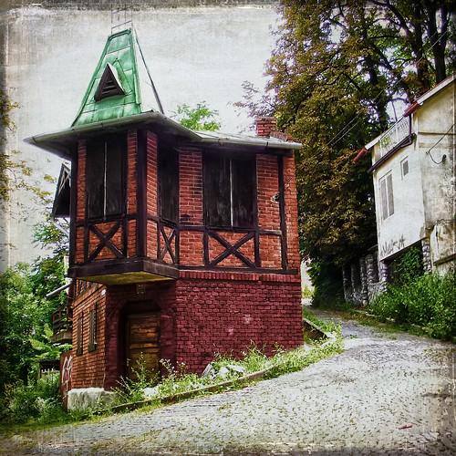 Miskolc, Avasi öreg pincesor / Old wine cellars in Miskolc