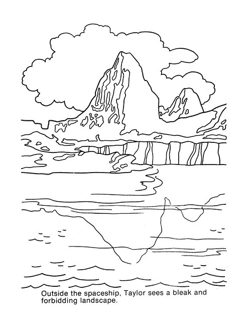 Planet of the Apes Coloring Book 0200008