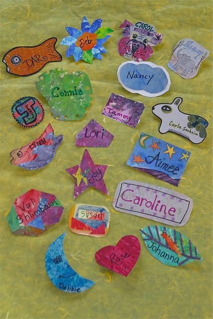 Handmade Name Tags Flickr Photo Sharing