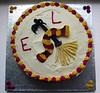 Gryffindor birthday cake