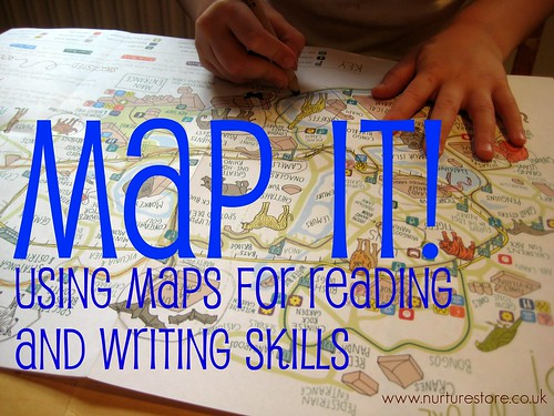 using maps for literacy