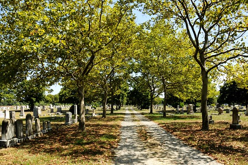 city cemetery town md peace maryland peaceful shade shady crumpton