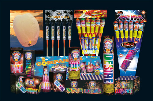 Epic Fireworks 2011 Display Packs - Penny For The Guy Pack