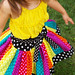 The Carousel Twirl Skirt™ (Rainbow Dots)