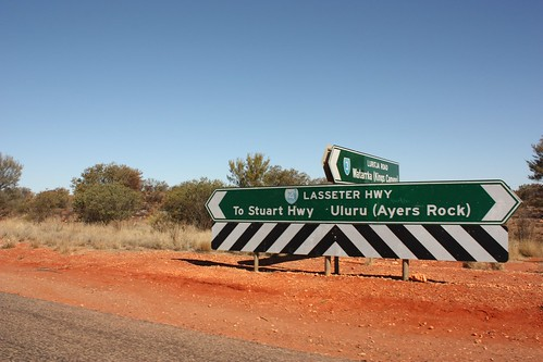 Lasseter Highway - Northern Territory - (Australia)