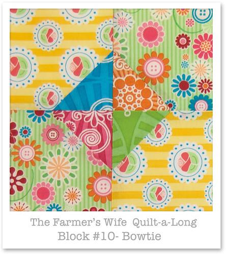 Farmer's Wife Quilt-a-Long - Block 10