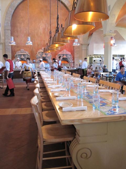 Main Table Via Napoli