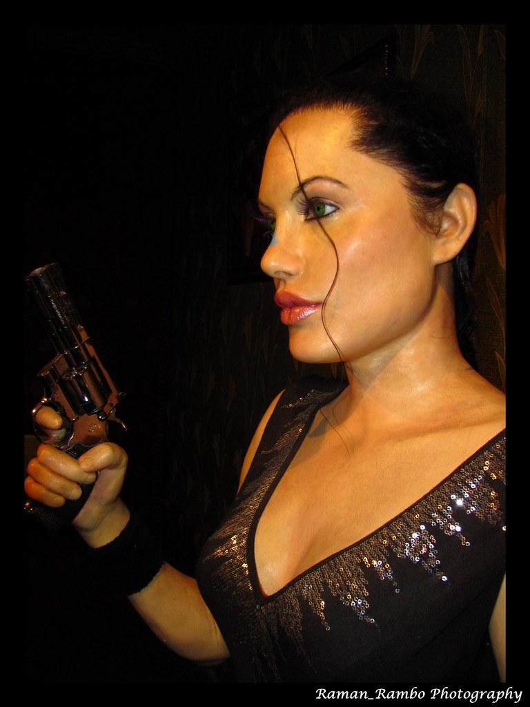 Lonavala - Wax Museum (Angelina Jolie)