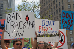 Manhattan Anti-Fracking rally, NYC