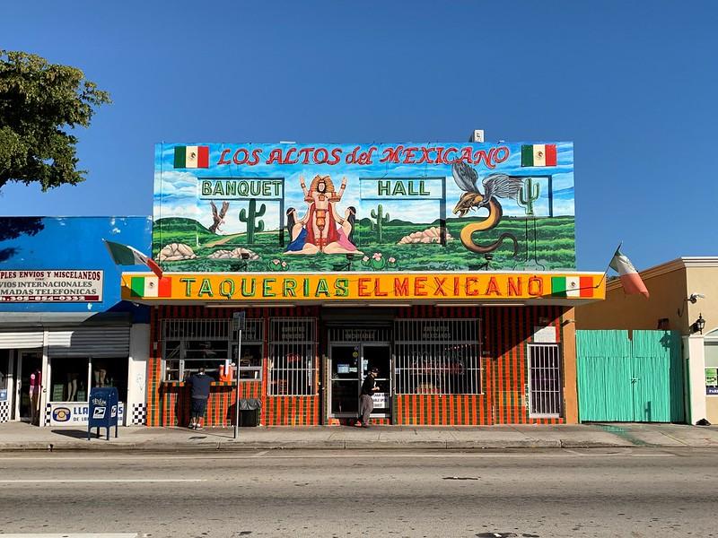 Taquerias El Mexicano Calle Ocho