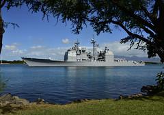 USS Port Royal (CG 73) file photo. (U.S. Navy/MC2 Daniel Barker)