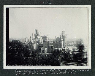 Casa Loma, Sir Henry Pellatt's Castle, Toronto, from the stables water tower, north side