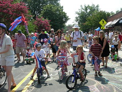 Carrboro's July 4 parade