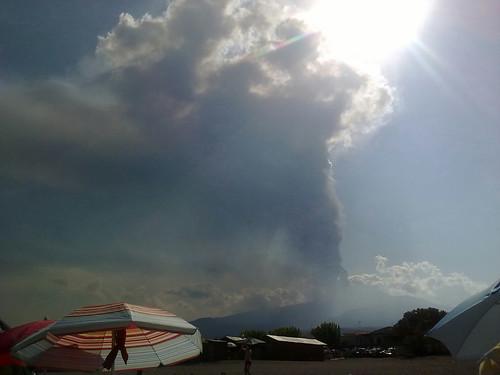 Etna, l'eruzione continua da stamattina: cenere cade ininterrottamente$